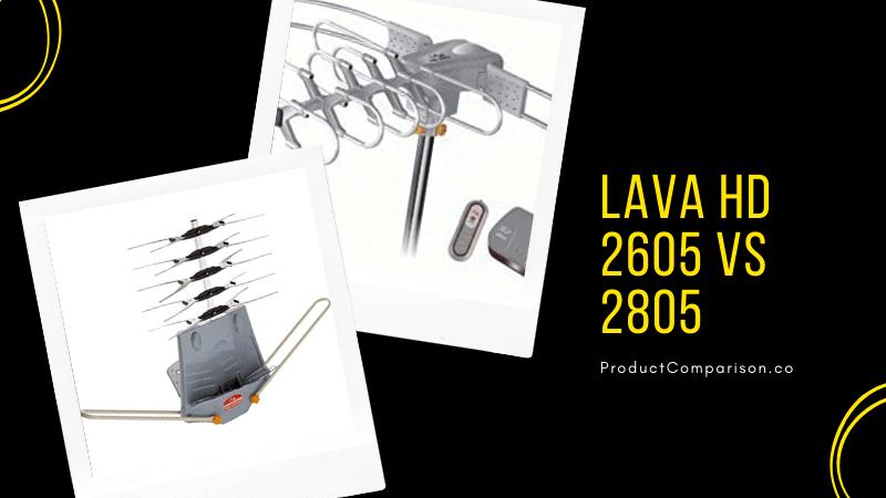 Lava HD 2605 vs 2805
