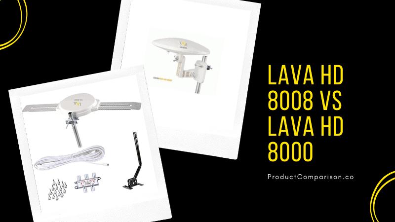Lava HD 8008 vs Lava HD 8000