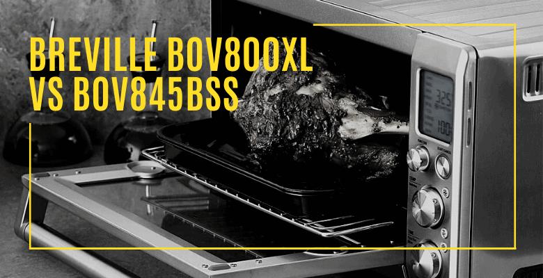 Tosters comparison Breville BOV800XL vs BOV845BSS