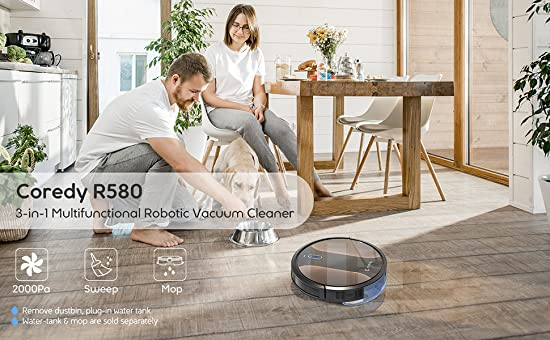 Which robot vacuum cleaner is better coredy 750 or coredy 580
