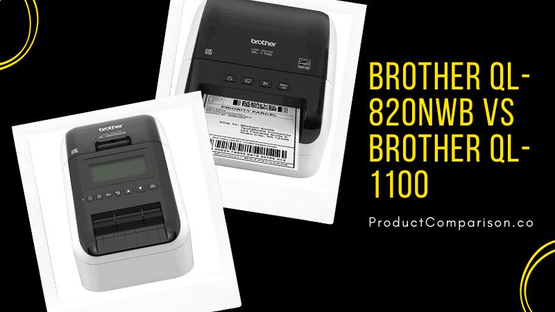 Brother QL-820NWB vs Brother QL-1100