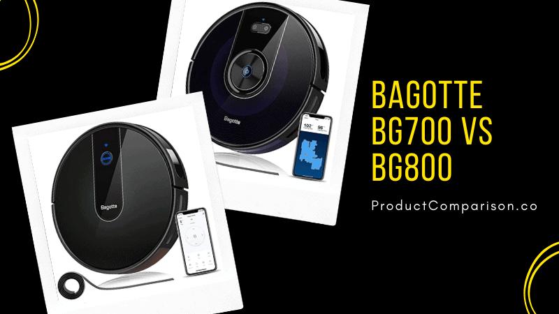Bagotte BG700 vs BG800