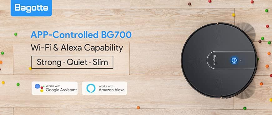 Bagotte BG700 vs Bagotte BG800 - Robot Vacuum Cleaner Comparison