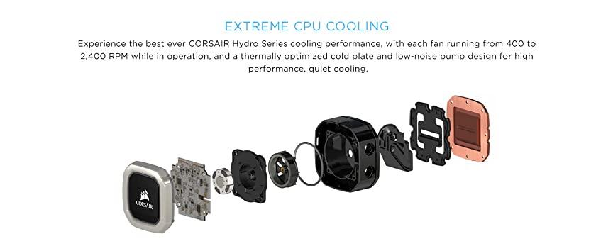 Corsair H100i v2 vs H115i RGB Platinum - Differences