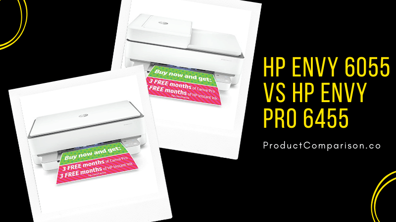 HP ENVY 6055 vs HP ENVY Pro 6455