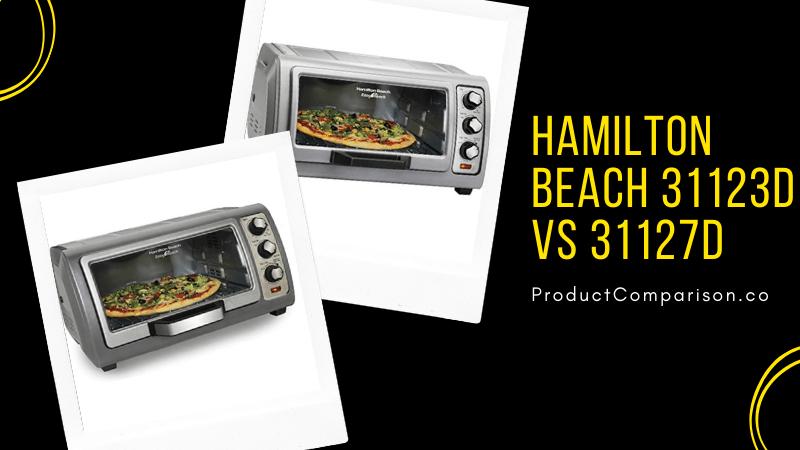 Hamilton Beach 31123D vs 31127D