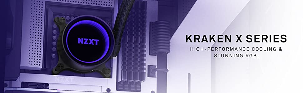 NZXT Kraken X73 360mm - RL-KRX73-01 - AIO RGB CPU Liquid Cooler