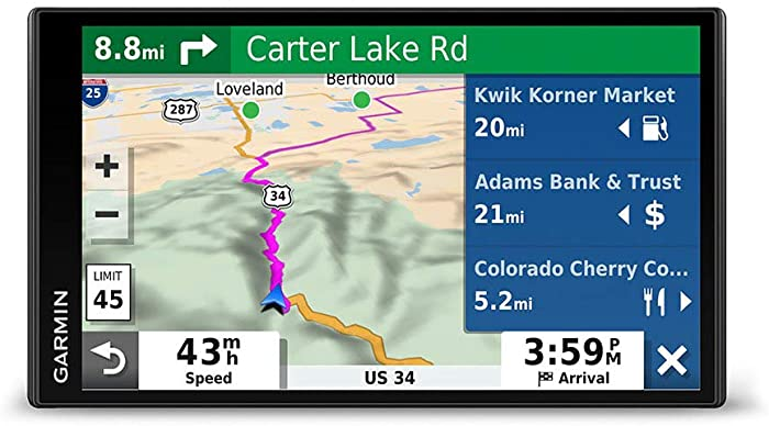 Compare Garmin DriveSmart 55 and 65 - Which Car GPS Navigator is Better