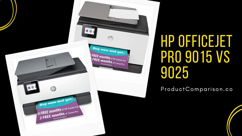 HP OfficeJet Pro 9015 vs 9025
