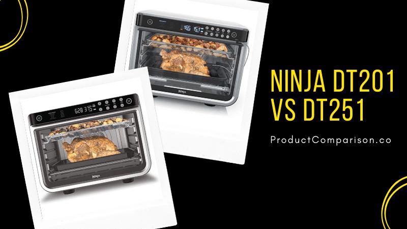 Ninja DT201 vs DT251