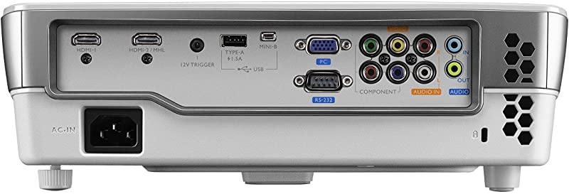 BenQ video projectors number of ports